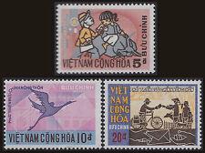 VIETNAM du SUD N°410/412** Poste rurale, 1972 South Viet Nam Sc#405-407 MNH