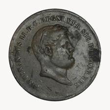 REGNO DELLE DUE SICILIE - Ferdinando II di Borbone 10 Tornesi 1851 IV tipo R2