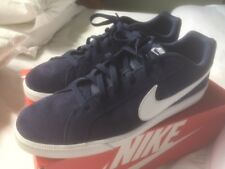 Nike Trainer / Skate Shoe Court Royale Size 11 / 46 Blue Suede