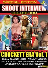 Crockett Era Vol. 1 Wrestling Shoot Interview 5 DVD Set