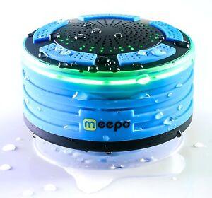 Waterproof Bluetooth Shower Speaker Portable Wireless Bass Stereo w/ FM Radio