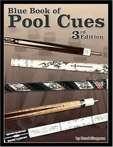 Blue Book of Pool Cues, 3rd Edition, Brad Simpson ~ NEW, From a Billiards Store