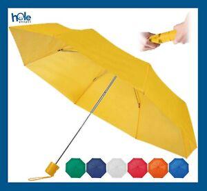 Ombrello Mini Portatile Pieghevole da Pioggia per Borsetta Leggero Uomo Donna