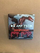 Mega Rare Vintage Promo Only pin Us and Them Pink Floyd The Wall Symphonic New