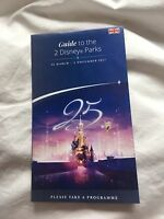 Disneyland Paris Nov 2017 Guide & Map 2 Parks Euro Disney  *NEW*