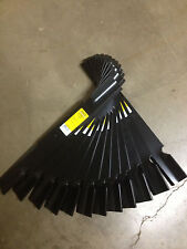 """Ferris 61"""" Blades 12 pc part number 5101755 ICD Deck Marbain Hardened Steel USA"""