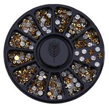 3D Nail Art Rhinestones, Gems, Pearls, Studs, Caviar Beads, Nail Decoration, UK