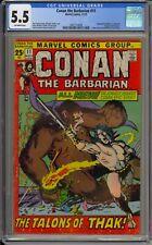 CONAN THE BARBARIAN #11 - CGC 5.5 - DOUBLE SIZE - 2061714008