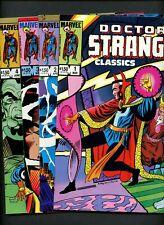 Doctor Strange Classics 1,2,3,4 (1984 Marvel) ^4 Books^ *COMPLETE SERIES* Ditko!