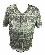 Corpus Christi Hooks Baseball Digital Camo Adult Jersey Large Minor League