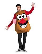 High Quality Adult Mr Potato Head Halloween Costume Fancy Dress