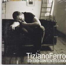 Tiziano Ferro-Ed Ero Contentissimo cd single sealed