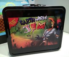 Loot Gaming Metal Earthworm Jim Lunchbox Brand New!