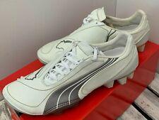 PUMA v1.08 K I FG Men's Football Shoes White UK7.5(EU41)(101747 02)