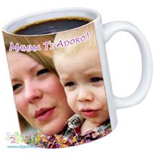 Tazza Festa Della Mamma personalizzabile con foto e testi