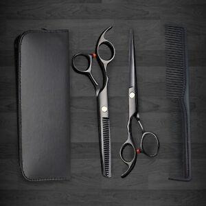 Profi Haarscheren Friseur Friseurschere Set Effilierschere Haarschneiden mit Box