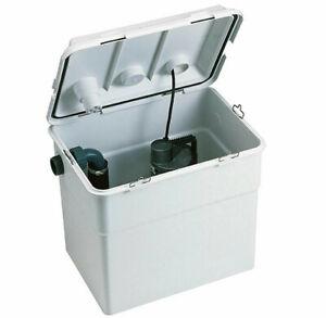 DAB Novabox Schmutzwasser Hebeanlage Kleinhebeanlage Abwasser Dusche Waschtisch