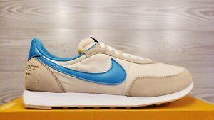 Nike Waffle Trainer 2 SD Blue White Retro Running DA2315 200 Size 10.5