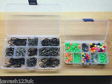 La pesca in mare KIT.600 + items.splits / Perline / Ruota / Crimps / GANCI + regalo gratuito.