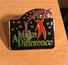 "I Make A Difference 1"" Collectible Pinback Pin"