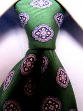 "Mens ""346"" Brooks Brothers Green Silk Tie A3616"