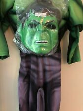 The Incredible Hulk Costume - Age 3-4 years Worn once
