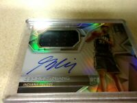 2016-17 spectra basketball jersy auto georges niand 274/300 pacers
