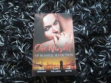 MILLS & BOON ONE NIGHT OF BLISSFUL SEDUCTION 3 IN 1 LIKE NEW 2017
