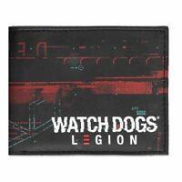 Montre Dogs Légion Glitch Logo Imprimé Repliable Portefeuille Mâle (MW006746WTD)