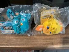Macdonalds toys 2 x furbys ,1 x gerbil & 1 x dog all still in there bags