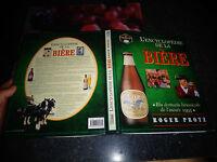 l'Encyclopédie de la BIERE Roger Protz Brasserie Chope Sous Bock Brassiculture