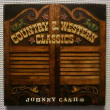 JOHNNY CASH Promo 3LP Box Set TIME LIFE Country & Western Classics w/Booklet NM