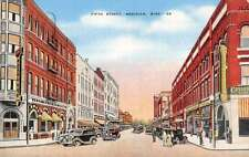 Meridian Mississippi Fifth Street Scene Store Fronts Antique Postcard K36450