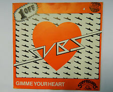 "SUBS - Gimme Your Heart - 7"" Single Yellow - Scottish Punk 1978 - SIMPLE MINDS"