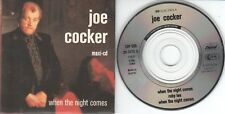 Joe Cocker  CD-SINGLE  WHEN THE NIGHT COMES  ( 3inch )   EXTENDED
