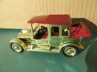 MATCHBOX YESTERYEAR - Very Rare No.Y7-3  Gold Plated  1912- Rolls Royce