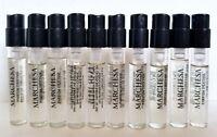 10 sample vials MARCHESA D'EXTASE eau de parfum 0.05oz Spray get 5 Vials FREE