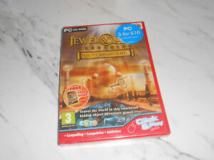 Jewel Quest Mysteries Trail of the Midnight Heart PC: Windows * NEW AND SEALED *