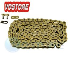 520 Gold Chain 102 Links For 1972-1976 Honda XL250 XL350R 2008 Bombardier 450 DS