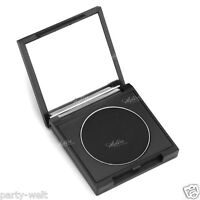 Single Square Matte Ladies Pure Eye Shadow Makeup Cosmetic Palette Mirror Black
