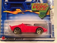 Hot Wheels 2002 First Editions 25/42 LANCIA STRATOS Red