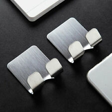 2*Universal Wall Stand Mount Phone Charger Holder for Hooks Tablet Silver