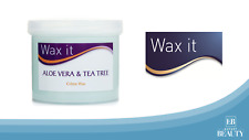 Wax It Aloe Vera and Tea Tree Depilatory Cream Wax Waxing Hair Removal 450g