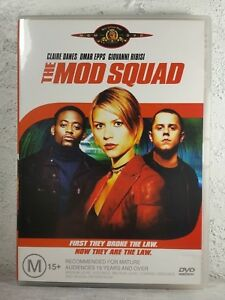 MOD SQUAD DVD CLAIRE DANES 1999 CRIME THRILLER MOVIE