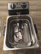 Cuisinart CDF-230 Stainless Steel 4-quart Deep Fryer - Silver