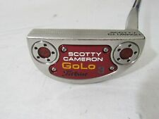 "Titleist Scotty Cameron GoLo 3 34"" Putter With Used RH  Headcover"