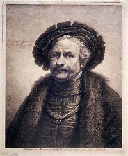 Radierung, Rembrandt, G.F. Schmidt, 1771, Wessely 91, Uffizien, Lugt 546