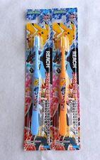 Japanese Toothbrush POKEMON Pocket Monster REACH for kids 6-12years old 2pcs