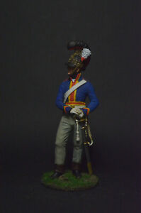 Tin soldier Private of the Heavy Cavalry, Great Britain 1810-15 54 mm