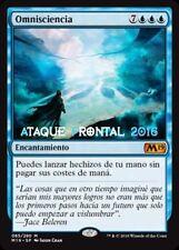 MTG OMNISCIENCIA - Omniscience - ESPAÑOL MAGIC 2019